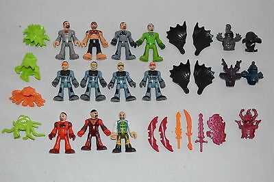 Fisher Price IMAGINEXT Mixed Lot – Action Figures People Helmets Weapons
