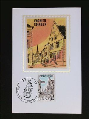 BELGIEN MK 1978 EDINGEN ENGHIEN MAXIMUMKARTE CARTE MAXIMUM CARD MC CM c5951