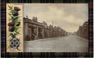 LOSSIEMOUTH Queen Street Moray Early Postcard