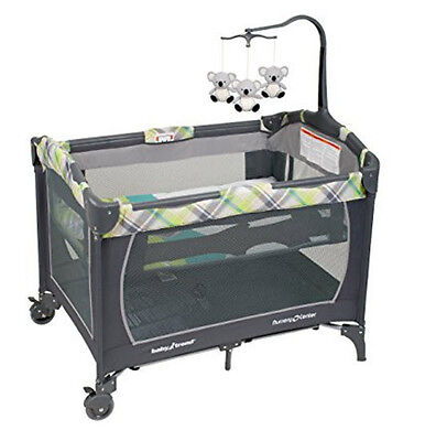 Baby Nursery Bassinet Playard Crib Portable Playpen Infant Cradle Bed Furniture