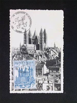 BELGIEN MK 1971 KATHEDRALE TOURNAI MAXIMUMKARTE CARTE MAXIMUM CARD MC CM c5715