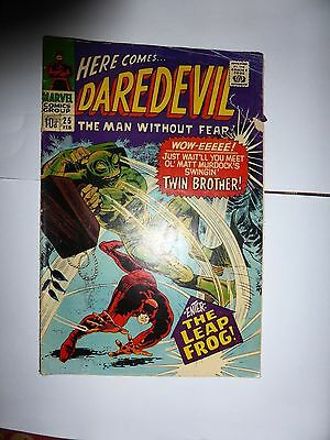Marvel Comics Here Comes Daredevil- The Man Without Fear Issue 25