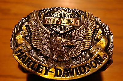 Harley belt and buckle