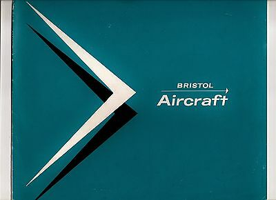 Sales Brochure - Bristol Aircraft - Britannia 310: Helicopters: Missiles - 1957