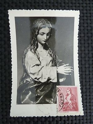 SPAIN MK 1960 MADONNA MAXIMUMKARTE CARTE MAXIMUM CARD MC CM c1652