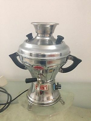 Vintage Samovar for use or decor Persian / Russian Electric