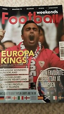 FOOTBALL WEEKENDS MAGAZINE - Issue 15