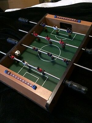 Wooden Mini Table Top Football Game