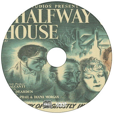 The Halfway House - Fantasy Ghost Drama - Mervyn Johns, Glynis Johns - 1944
