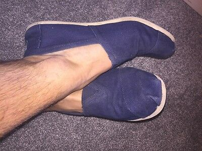Mens Toms Size 8 Worn Used Gay Int Shoes Beach