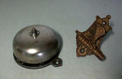 c.1875 Victorian Eastlake Connell's Mechanical Doorbell & Pull
