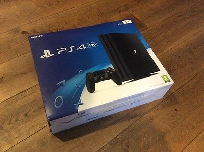 Sony Playstation 4 PS4 Pro 1TB (Empty Box Only With Bags And Guide)