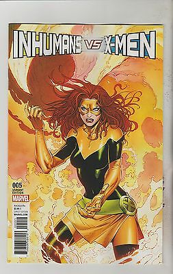Marvel Comics Inhumans Vs X-Men #5 April 2017 Ivx Syaf X-Men Variant Nm