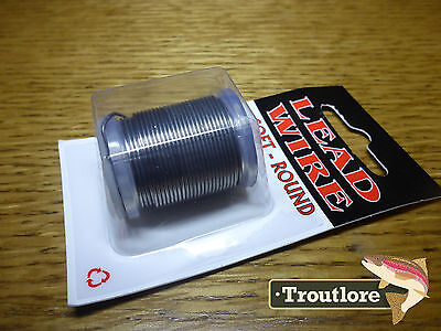 Soft Round Lead Wire Size .035 - Standard Spool - New Fly Tying Threads