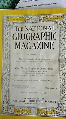 The National Geographic October 1947