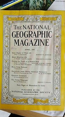 The National Geographic April 1947