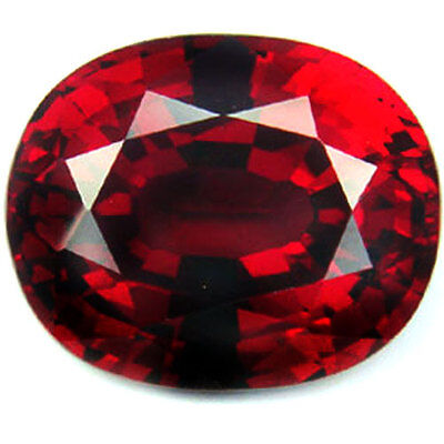 12.75Ct.14.5x12x8.5 mm. Ravishing Blood Red Ruby Oval Loose Gemstone