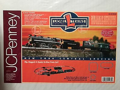 NEW MIB O Gauge Lionel 6-21932 JC Penney New York Central Special Train Set