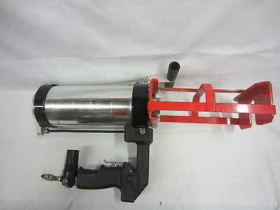 Pneumatic Dual Component Double Caulk Gun