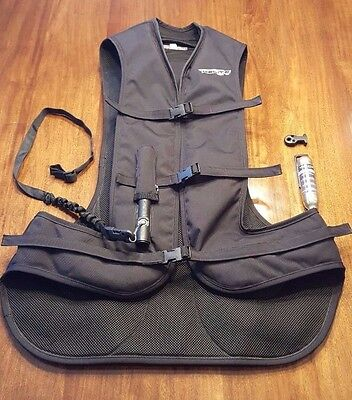 Helite Air Vest / Size XL  (Very lightly used)
