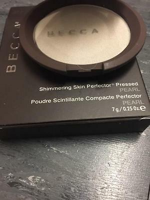 BECCA Shimmering Skin Perfector Pressed **Pearl** FULL SIZE (8g)