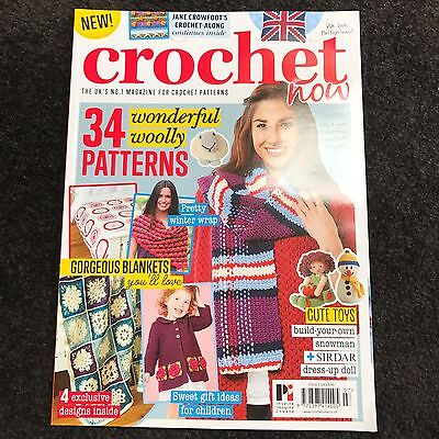 Crochet Now Magazine Issue 7 With 34 Patterns Cushion Blankets Cardigan Scarf