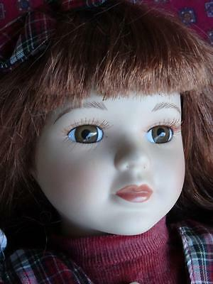 Lovely Vintage Tall Porcelain Doll Looking For A Loving New Home