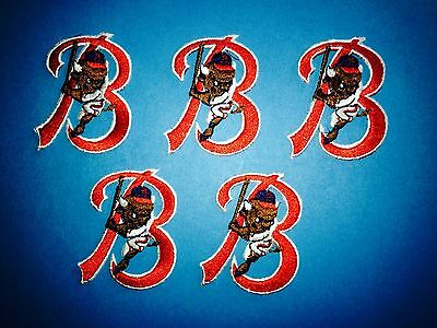 5 Lot Vintage Buffalo Bisons AAA Minor Leauge Baseball Iron On Hat Patches