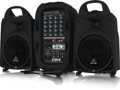 Behringer PPA500BT Compact PA System