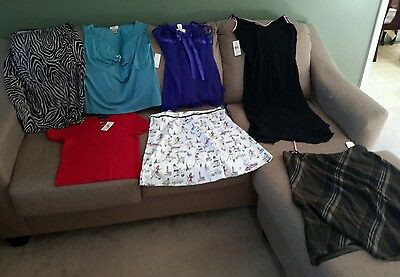 Women's size Large nwt mixed lot of 7 (Lw7)