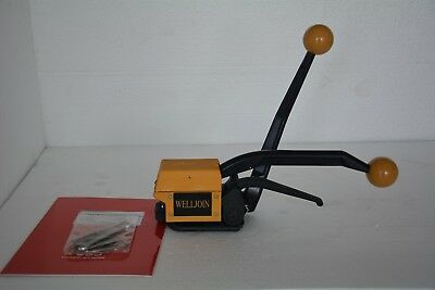 A333 Manual Buckle Free Steel Strip Strapping Tool Packing Machine