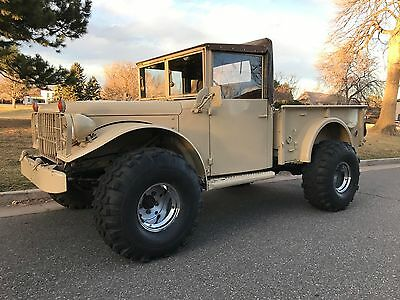 1954 Dodge M37 Military Truck, Runs Great, Excellent Condition!