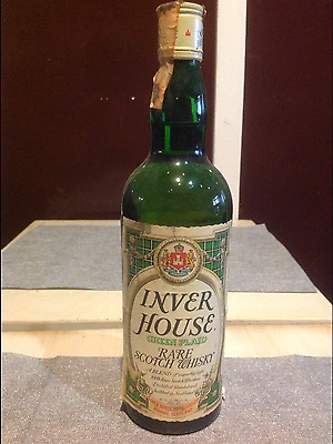 Scotch Whisky INVER HOUSE GREEN PLAID - 75 cl.