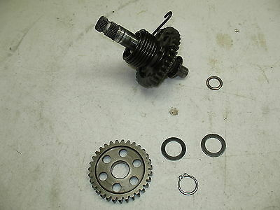 1989 Yamaha Xt 600 Xt600 Kickstart Starter Mechanism Assembly + Idler Gear