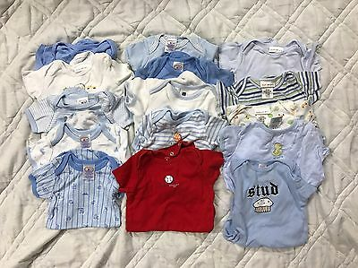 Boys, infant 6-9 months onsie Lot