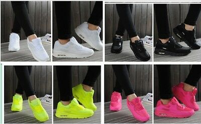 New Running Trainers Women's Walking  Sports Fashion Shoes