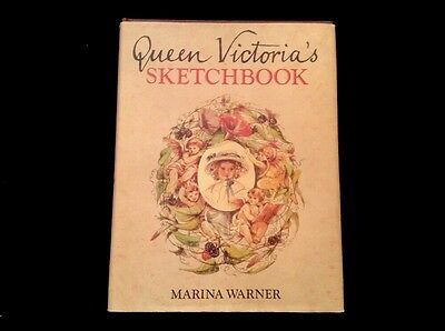 Queen Victoria's SketchBook Hard Cover Crown Publishers 1979 Books