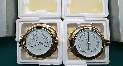 Hanseatic Instruments Hamberg Made In Germany Barometer - Hygrometer (New)