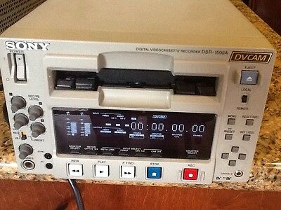 Sony DSR-1500A DVCam MiniDV Video Cassette Recorder