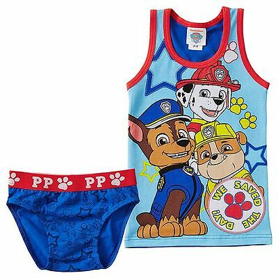 NEW Paw Patrol Tank and Brief Set Kids Size 1-2