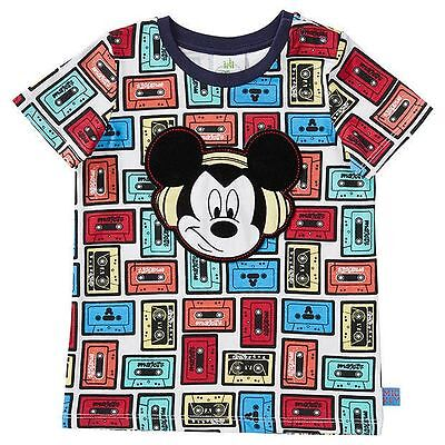 NEW Disney Baby Mickey Mouse Short Sleeve T-Shirt Kids Size 000