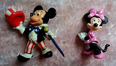 12 piece - MICKEY MINNIE MOUSE VINTAGE TOYS COLLECTABLES Key charm decoration