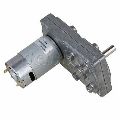 Square Metal High Torque Reduce Speed Motors 12V 66RPM for Automatic Actuator