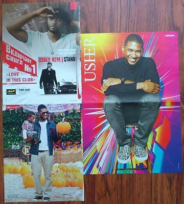 USHER Terrence Raymond IV Poster Clippings