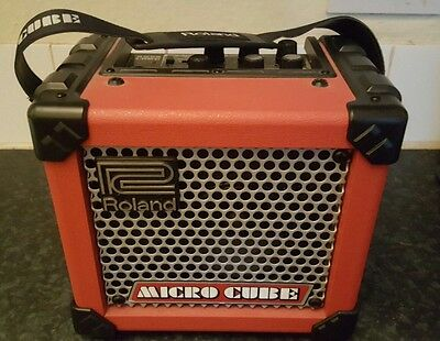 Roland Micro Cube Amplifier With Fx