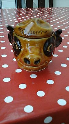 SZEILER COW BEEF DRIPPING POT with LID