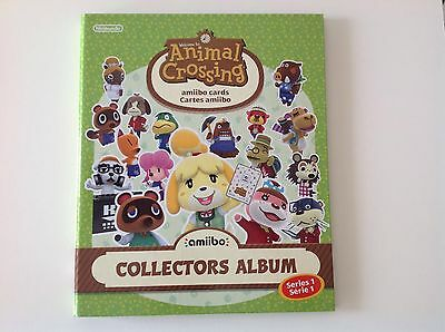 Animal Crossing Amiibo Cards Series 1 Complete in Folder
