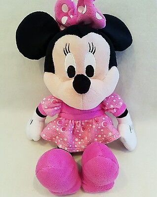 """Minnie Mouse plush soft toy TALKING minnie mouse 14"""" rare"""