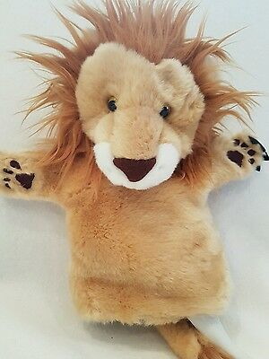 The Puppet Company lion hand puppet New rare
