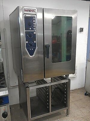 Rational Cm 10 Grid Electric Combi Oven With Stand